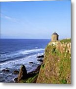Mussenden Temple, Portstewart, Co Metal Print