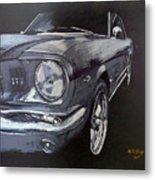 Mustang Front Metal Print