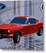 Mustang Poster Metal Print