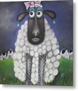 Mutton Dressed As Lamb Metal Print