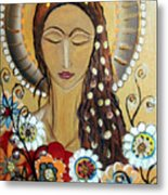 My Angel Modern Icon Metal Print