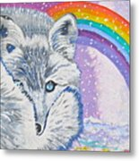 My Artic Fox Metal Print