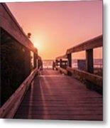 My Atlantic Dream -the Boardwalk  Metal Print