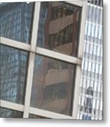 My Building Or Yours Metal Print