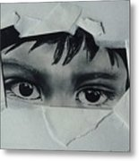 My Child's Eyes Metal Print