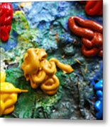 My Colorful Palette Metal Print