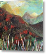 My Days In The Mountains Metal Print