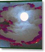 My Dream Moon Moonshine Sky Metal Print