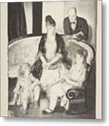 My Family, Second Stone George Bellows  Metal Print