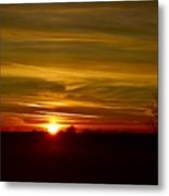 My First 2016 Sunset Photo Metal Print
