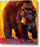 My Fish - Grizzly Bear Metal Print