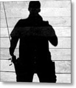 My Fishing Buddy Metal Print