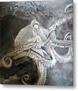 My Friend The Octopus Metal Print