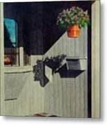 My Front Porch Metal Print by Ron Sylvia