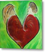 My Funny Valentine Metal Print by Donna Blackhall
