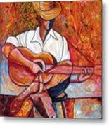 My Guitar Metal Print by Jose Manuel Abraham