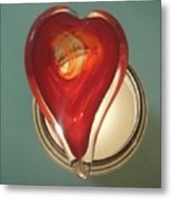 My Heart Burns To See You... Metal Print