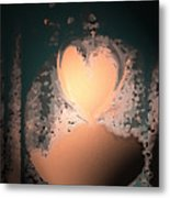My Heart Is On The Moon Metal Print