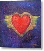 My Heart My Strength Metal Print