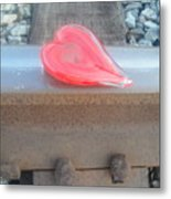 My Hearts On The Right Track Metal Print