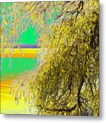 My Home Town-autunno1 Metal Print