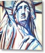 My Lady Liberty  Metal Print