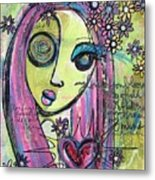 My Love For You Blooms Metal Print