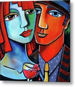 My Love Is Contagious Metal Print