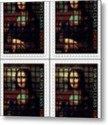 My Mona Lisa Weave  4 Metal Print