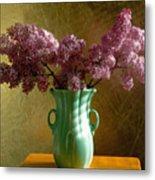 My Mother's Lilacs Metal Print