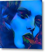 My Name Is Ice Cold Lady Metal Print