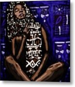 My Name Is Kenya Metal Print
