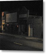 My Neighborhood At Night Metal Print