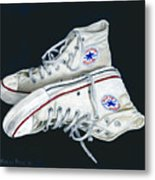 My Old All Stars Metal Print