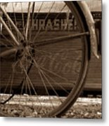 My Old Bike Metal Print