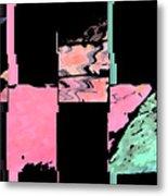 My Patio Abstract Metal Print