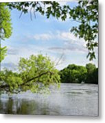 My Place By The River Metal Print