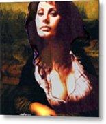 My Real Mona Lisa Metal Print