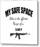 My Safe Space Metal Print