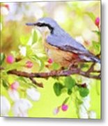 My Summer Bird Metal Print