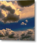 My Sunset Sky Metal Print by Wendy J St Christopher