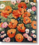 My Taos Wildflowers Metal Print