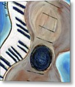 My Theory Metal Print by Gail Budinger