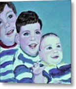 My Three Sons Metal Print