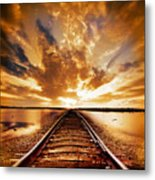 My Way Metal Print
