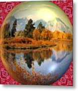 My World Metal Print