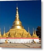 Myanmar Temple Metal Print