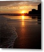 Myrtle Beach Sunset Metal Print