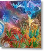 Mysteries Of The Ocean Metal Print