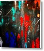 Mysterious Inferno  Metal Print